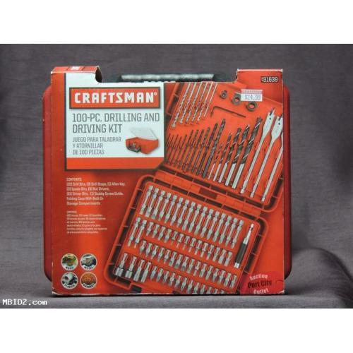 Craftsman 100-Piece Accessory Drill Bit Accessory Kit - 931639