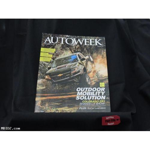 Autoweek Magazine - December 12, 2016