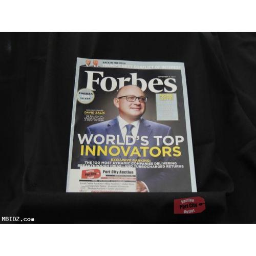 Forbes Magazine - September 5, 2017