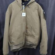 Carhartt Men's Sandstone Active Jacket J130 - Size XXL Regular - Frontier Brown - NEW