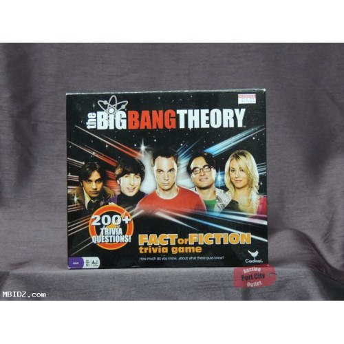 The Big Bang Theory: Fact or Fiction Trivia Game - New