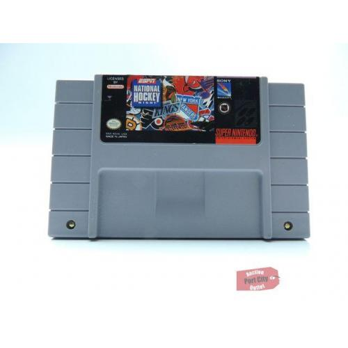 ESPN National Hockey Night - (SNES Super Nintendo Game) USED