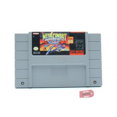 Metal Combat: Falcon's Revenge - (SNES Super Nintendo Game) USED