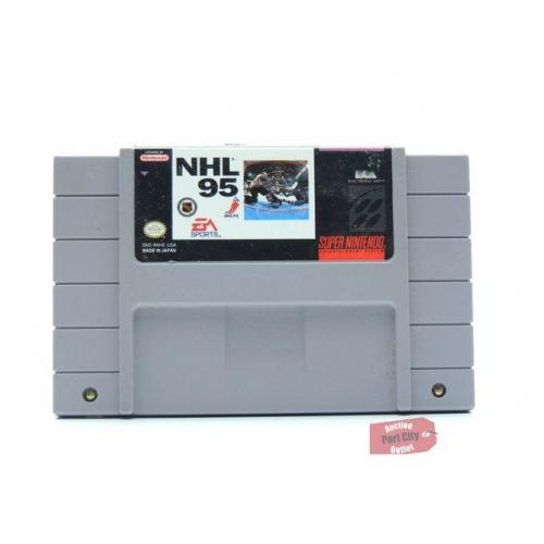 NHL '95 - (SNES Super Nintendo Game) USED