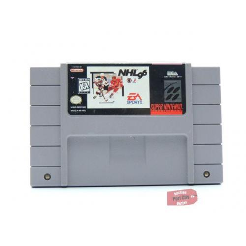 NHL '96 - (SNES Super Nintendo Game) USED
