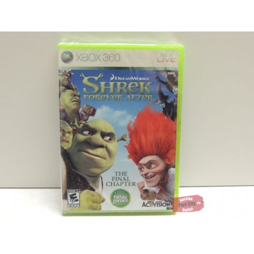 Shrek Forever After: The Final Chapter - Xbox 360 Game - New & Sealed