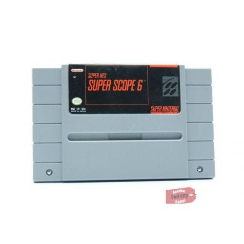 Super NES Super Scope 6 - (SNES Super Nintendo Game) USED