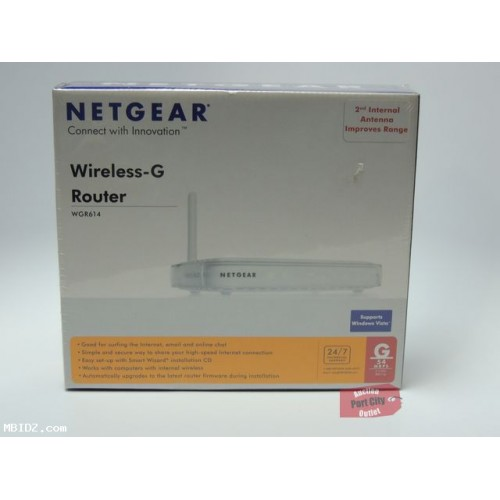 Netgear WGR614 Wireless-G Router - New