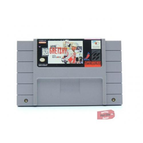 Wayne Gretzky And The NHLPA All-Stars - (SNES Super Nintendo Game) USED