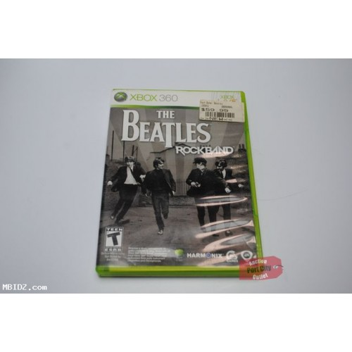 Rock Band: The Beatles - Xbox 360 Game Only - Used