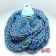 Blue Infinity Scarf - NEW