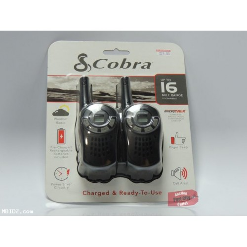 Cobra MicroTalk CTW135P 16-Mile Pre-Charged Two-Way Radios