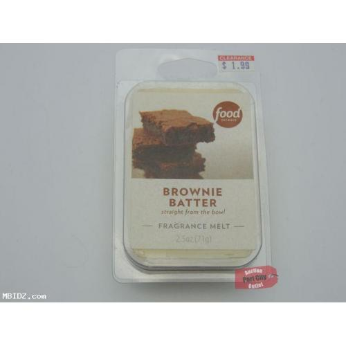 Food Network Brownie Batter Fragrance Wax Melt - NEW