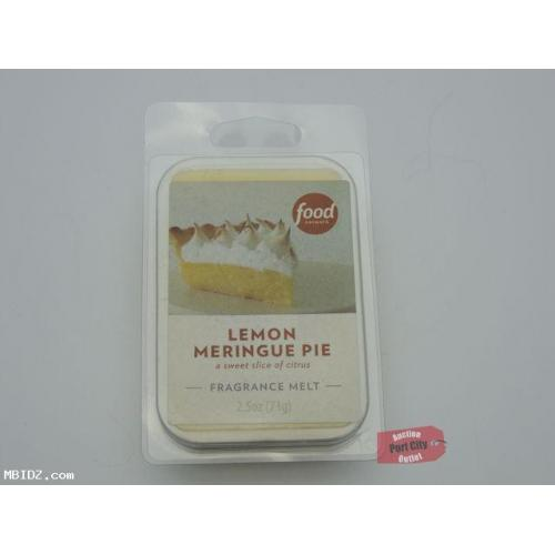 Food Network Lemon Meringue Pie Fragrance Wax Melt - NEW