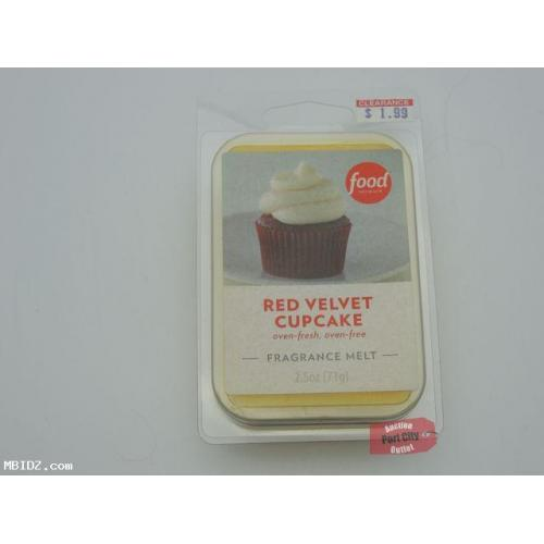 Food Network Red Velvet Cupcake Fragrance Wax Melt - NEW