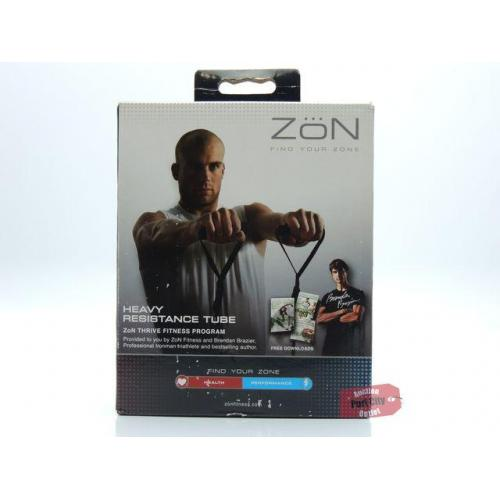 ZoN Fitness Heavy Resistance Tube - Black - 1 Tube -NEW IN BOX