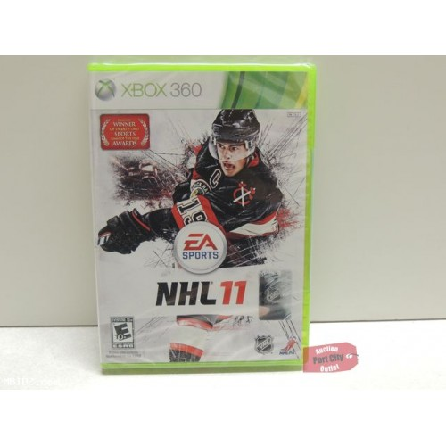 NHL 11 - Xbox 360 Game - New & Sealed