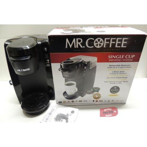Mr. Coffee Single Cup Keurig K-Cup® Brewing System, 24 ounces - Black