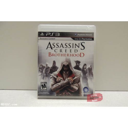 Assassin's Creed Brotherhood (Sony PlayStation 3, 2010)