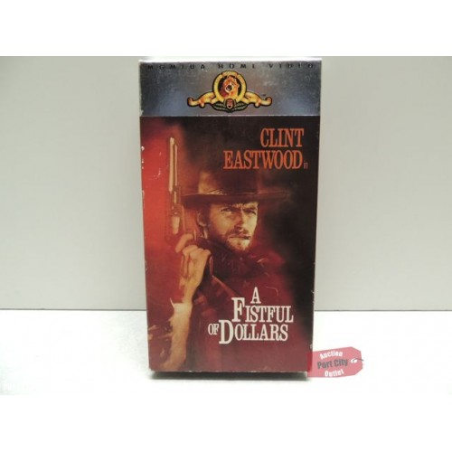 A FISTFUL OF DOLLARS (VHS, 1964)