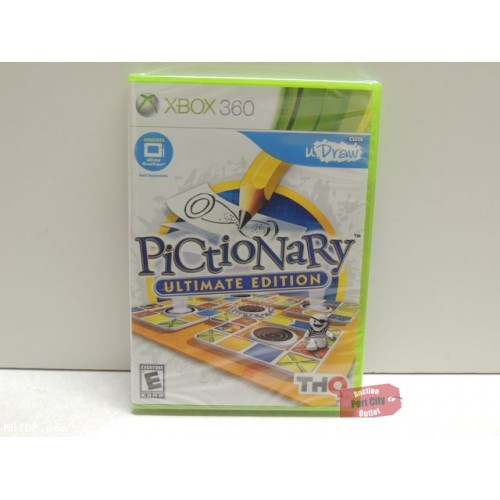 uDraw Pictionary: Ultimate Edition - Xbox 360 Game - New & Sealed
