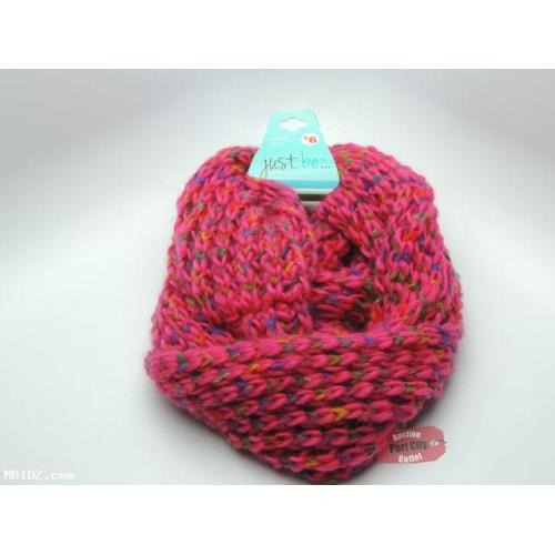 Pink Infinity Scarf - NEW