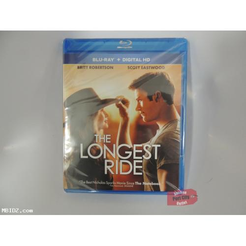 The Longest Ride Blu-Ray + Digital HD - NEW