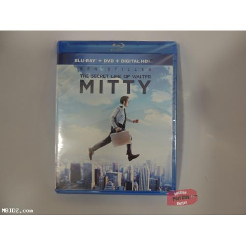 The Secret Life of Walter Mitty Blu-Ray + DVD + Digital HD - NEW