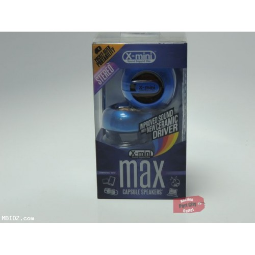 X-Mini MAX Capsule Speaker - Blue - New