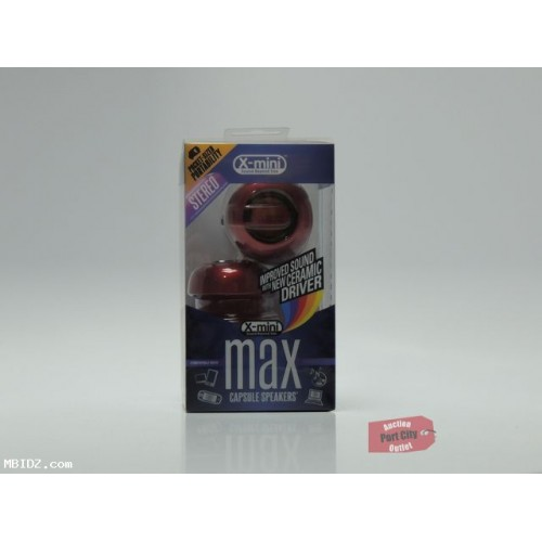 X-Mini MAX Capsule Speaker - Red - New