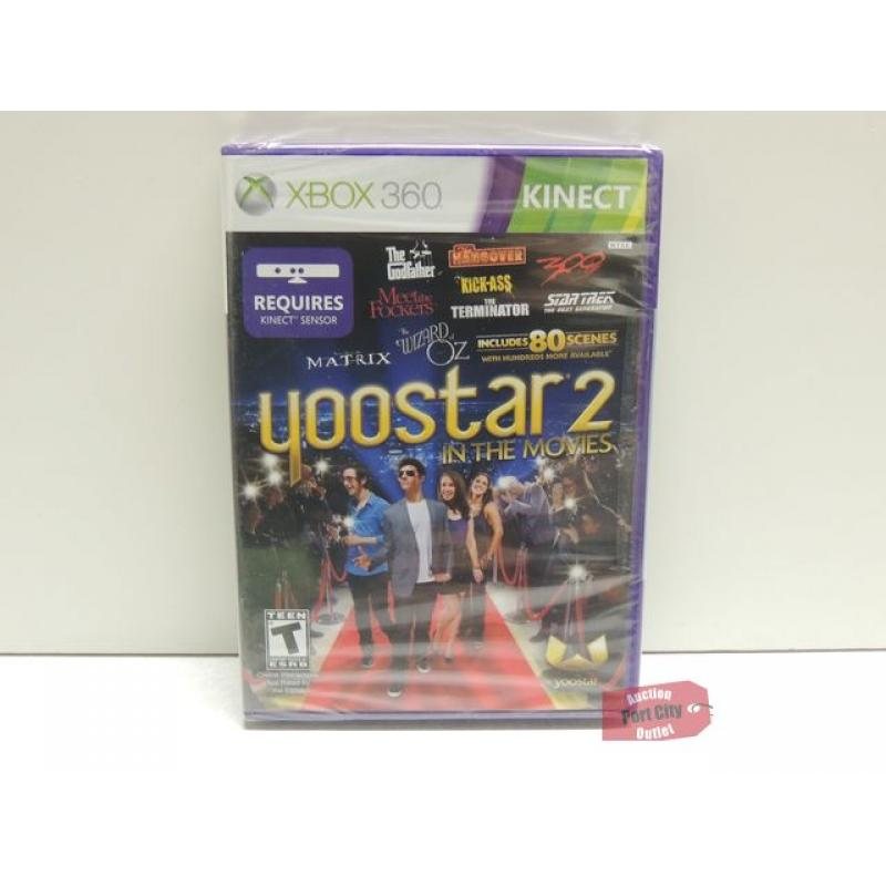 Yoostar 2 In The Movies - Xbox 360 Game - New & Sealed