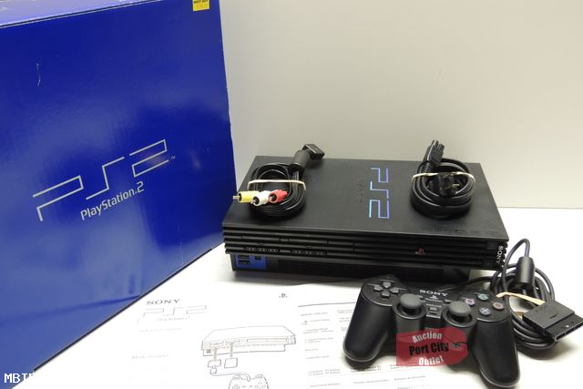 Sony PlayStation 2 Console with Original Box SCPH-30001R ...